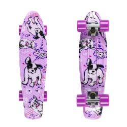 Dogs/Silver/Purple