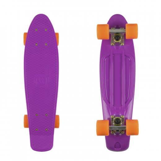 Purple/Silver/Orange