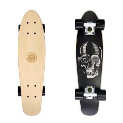 Black Skull/White/Black