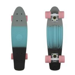 Grey Blue Black/White/Summer Pink