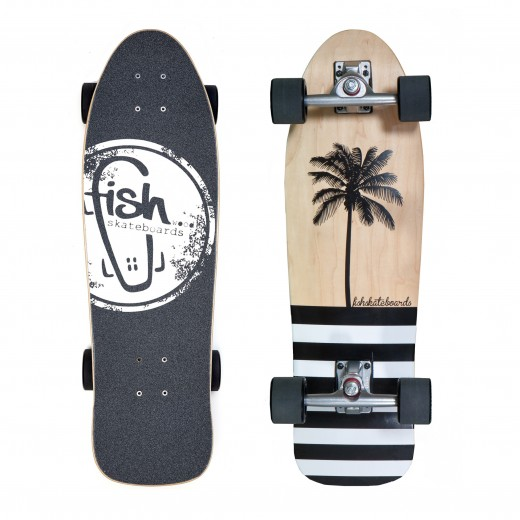 Surfskate Coco/Silver/Black