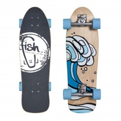 Surfskate Surf/Silver/Blue