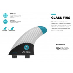 Aerial Materials Glass Fins