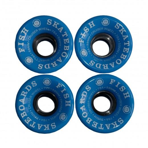 Kółka blue 59 mm/78A