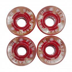Kółka świecące red 59mm/78A