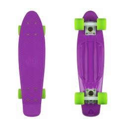 Purple/White/Green