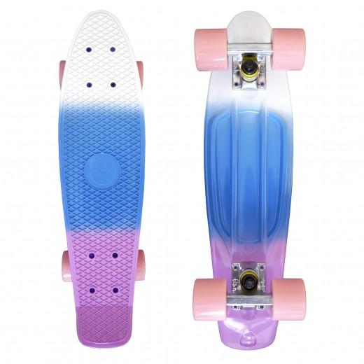 Fishka® White Blue Pink/Silver/Pink