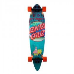 "Deskorolka cruzer Santa Cruz pintail Spongebob™ Best Buds 9.58"" x 39"""