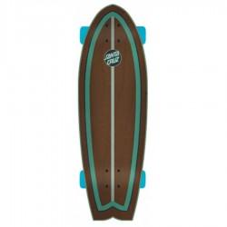 """Deskorolka cruzer Santa Cruz Wave Dot Shark 8.8"""" x 27.7"""""""