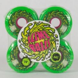 Koła do deskorolki Santa Cruz Slime Balls OG Slime 78A 66mm neon green