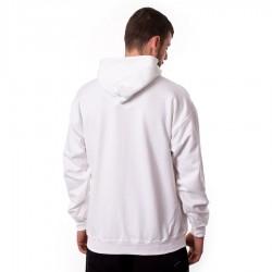 Bluza z kapturem Thrasher Flame Logo Hoody white