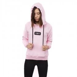 Bluza damska z kapturem Nervous Hood ND FA19 Classic pink