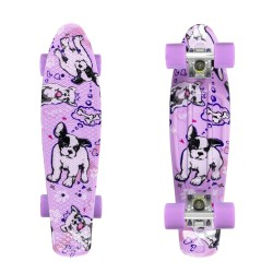 Fishka® Dogs/Silver/Summer Purple