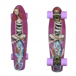 Fishka® Art Girl & Fish/Silver/Summer Purple