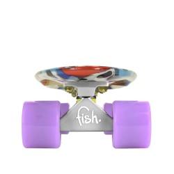 Fishka® Art Fish Face/Silver/Summer Purple