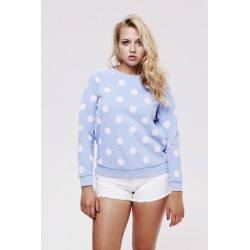 Dots Crew Fleece