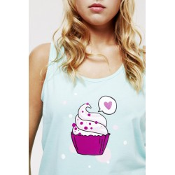 Summer Green Muffin Tank Top