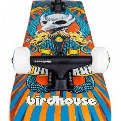 Deskorolka BirdHouse Stage 3 Emblem Circus orng 7.75