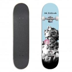 "Fish Skateboards Standard 8.0"" Bubble Gum"