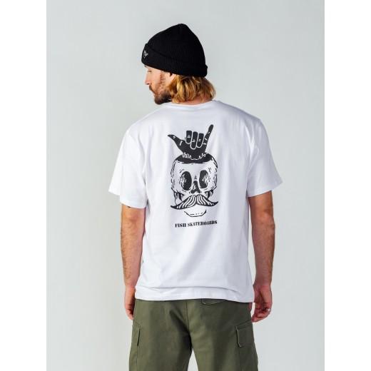 Koszulka Surf Skull White