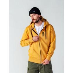 Bluza z kapturem rozpinana Surf Skull Yellow
