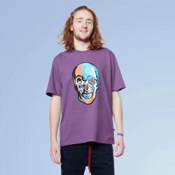 Purple Skull Tee