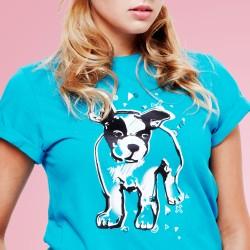 Dog Blue Tee