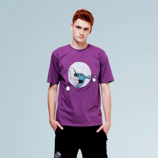 Ugly Fish Purple Tee