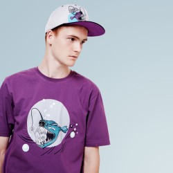 Ugly Fish Purple Tee
