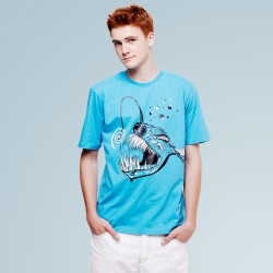 Ugly Fish Blue Tee