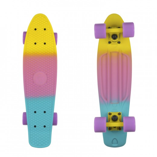 Yellow Purple Blue/Yellow/Summer Purple