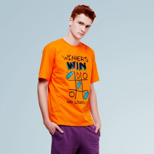 Winners Orange Tee