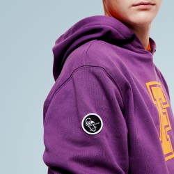 F Purple Hoodie