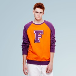 F Orange Crew Fleece
