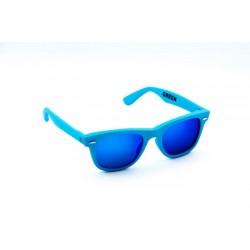 Neon Green Cyan Fluo/Mirror Blue