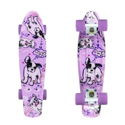 Fish Boards® Dogs/Silver/Purple