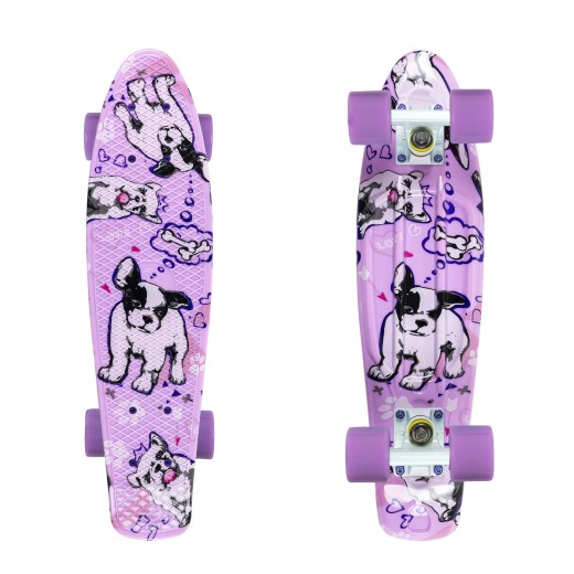 Fishka® Dogs/White/Summer Purple