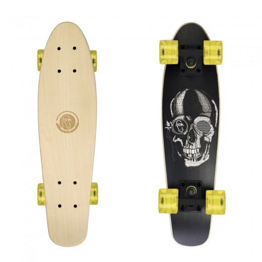 Cruiser Black Skull/Black/Transparent Yellow