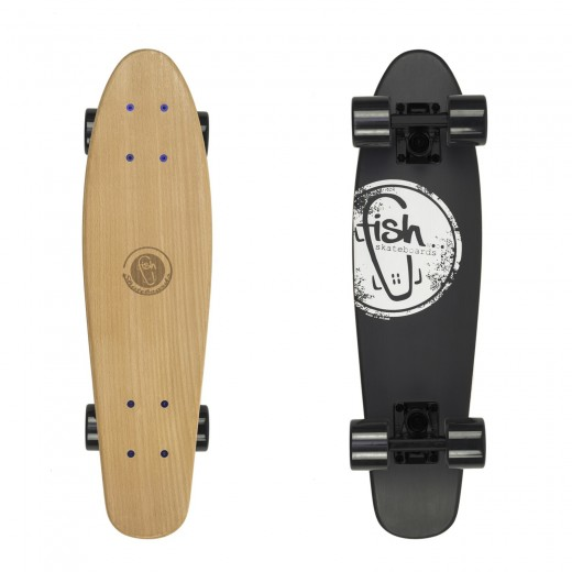 Cruiser Fish Black Logo/Black/Black